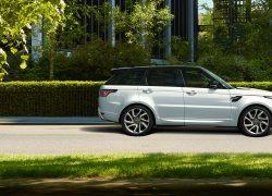 Range Rover Sport PHEV bei Auto Stahl Seitenansicht