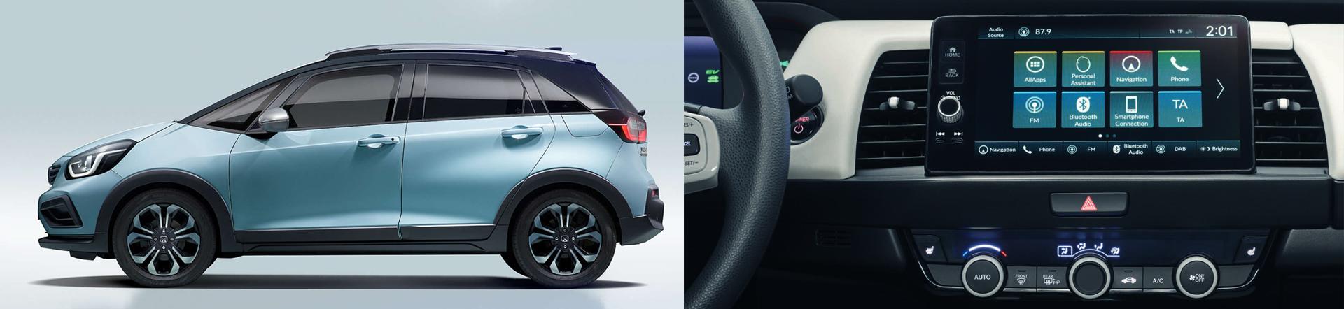 Headerbild neuer Honda JAZZ CROSSTAR e:HEV