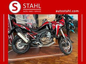 Honda Africa Twin für das Africa Twin Special bei AUTO STAHL im August 2020 mit der GW-Nummer 1771