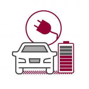 Icon Abbildung AUTO STAHL E-Mobilität