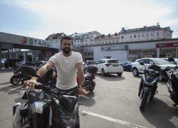 Auto Stahl Bikers Only Verkaufsberater Devran Yilmaz in Wien 20