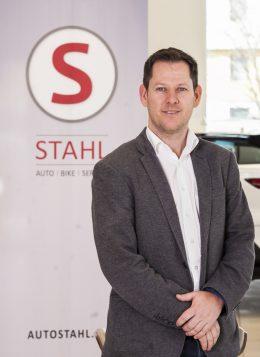 Auto Stahl Betriebsleiter Michael Bournes
