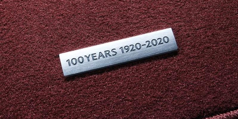 Auto Stahl Mazda 100 Jahre