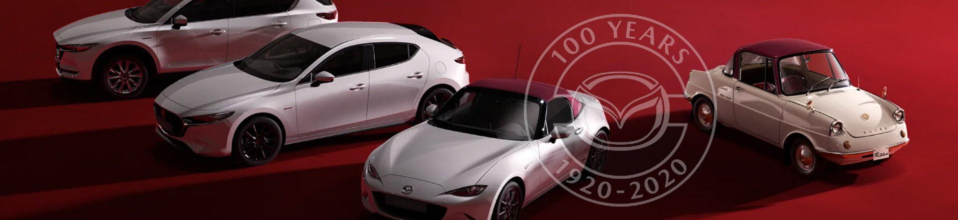 Auto Stahl Mazda 100 Jahre Header