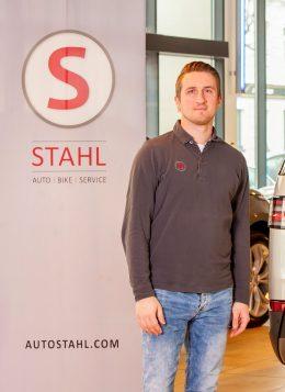 Auto Stahl Team Wien 20 Patrik Schmidt Stellv. Werkstatt Leiter