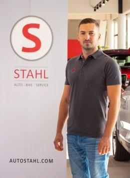 Auto Stahl Team Wien 21 Patrick Kovar Kundendienst Berater - Schätzmeister