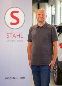 Auto Stahl Team Wien 21 Oliver Milojkovic Lager Leiter