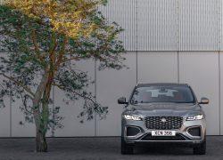 Auto Stahl der neue Jaguar F-Pace Frontansicht