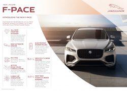 Auto Stahl der neue Jaguar F-Pace Overview Info