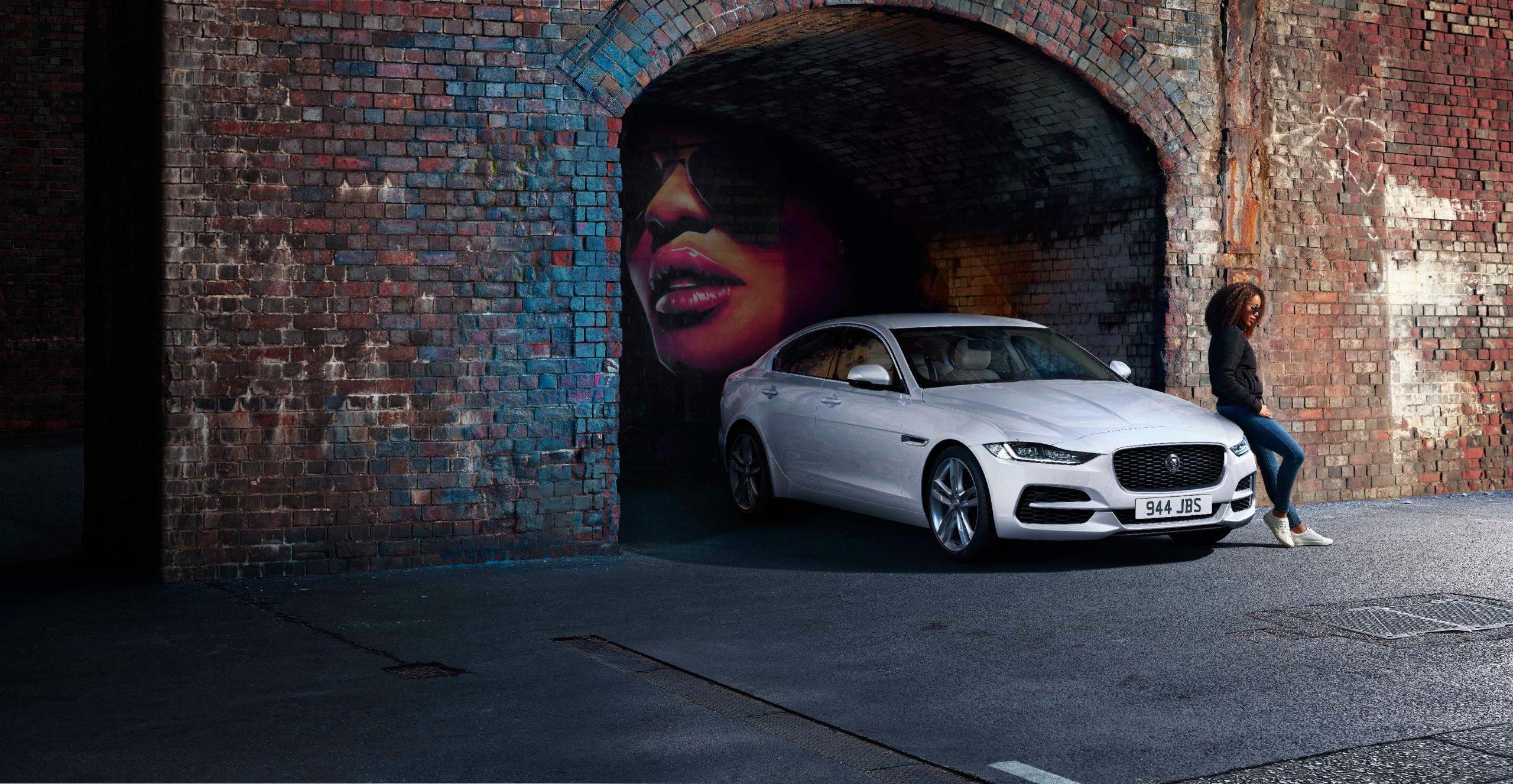 Auto Stahl der neue Jaguar XE