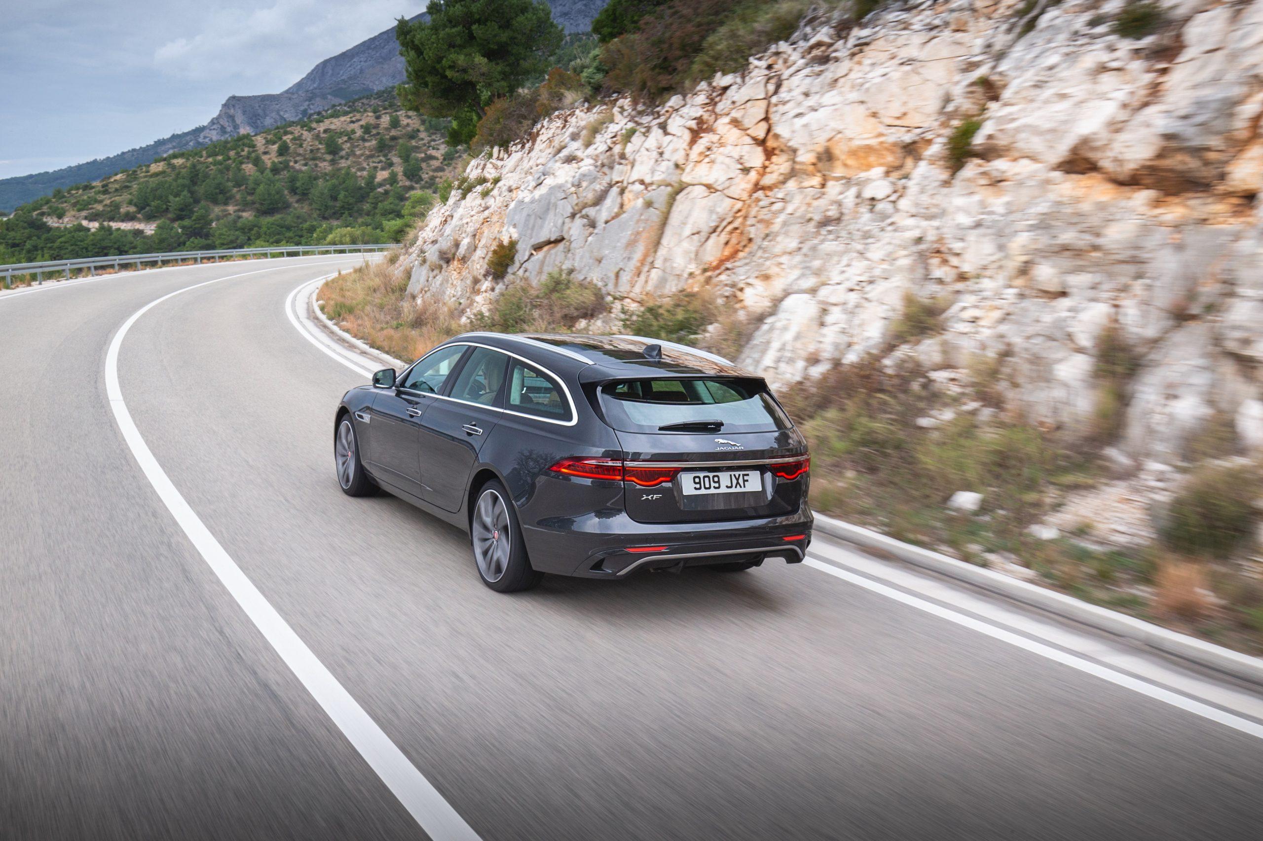 Auto Stahl der neue Jaguar XF Sportbrake