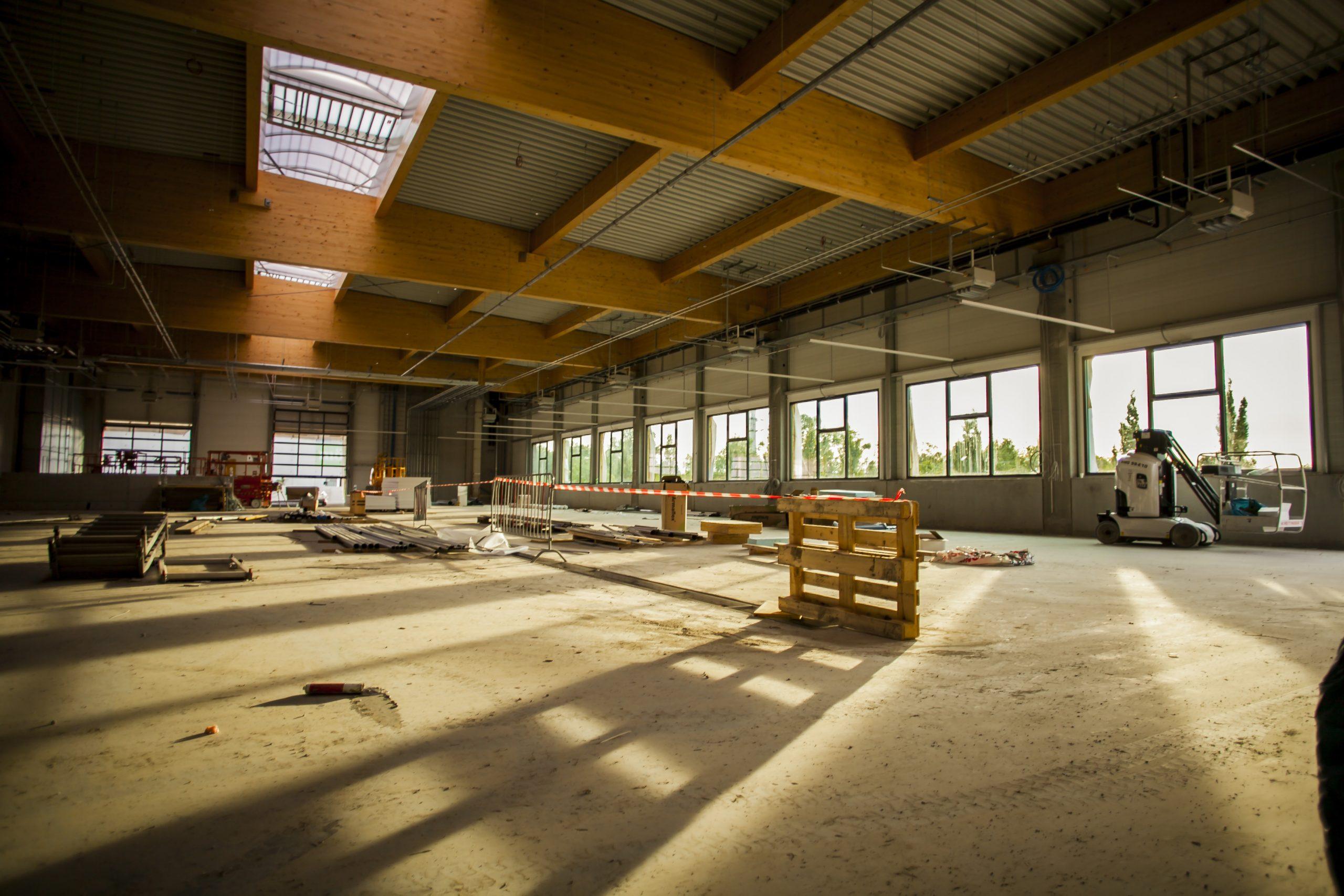 AUTO STAHL Wien 22 | Ansicht Werkstattbereich | Baufortschritt September 2020
