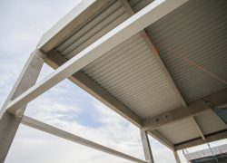 AUTO STAHL Wien 22 | Fassadenkonstruktion | September 2020