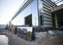 AUTO STAHL Wien 22 | Baufortschritt Fassadenverglasung | Oktober 2020