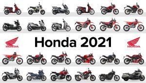 Honda Motorräder 2021