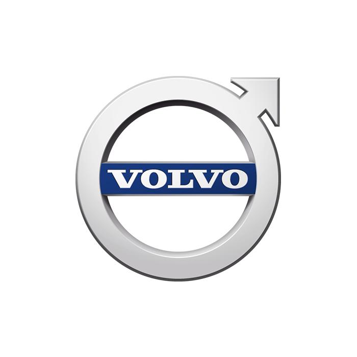 Volvo Logo verkleinert für Serviceaktionen