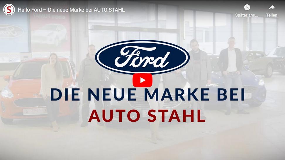 Teaserbild Video Ford die neue Marke bei AUTO STAHL