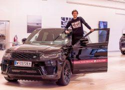 Dominic Thiem fährt mit AUTO STAHL