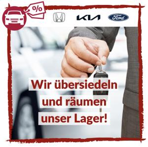 Lagerabverkauf bei AUTO Stahl Wien 20. Honda, Kia oder Ford-Modelle warten!