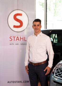 MA Fabio Nedoma Verkaufsberater Kia Auto Stahl Wien 22