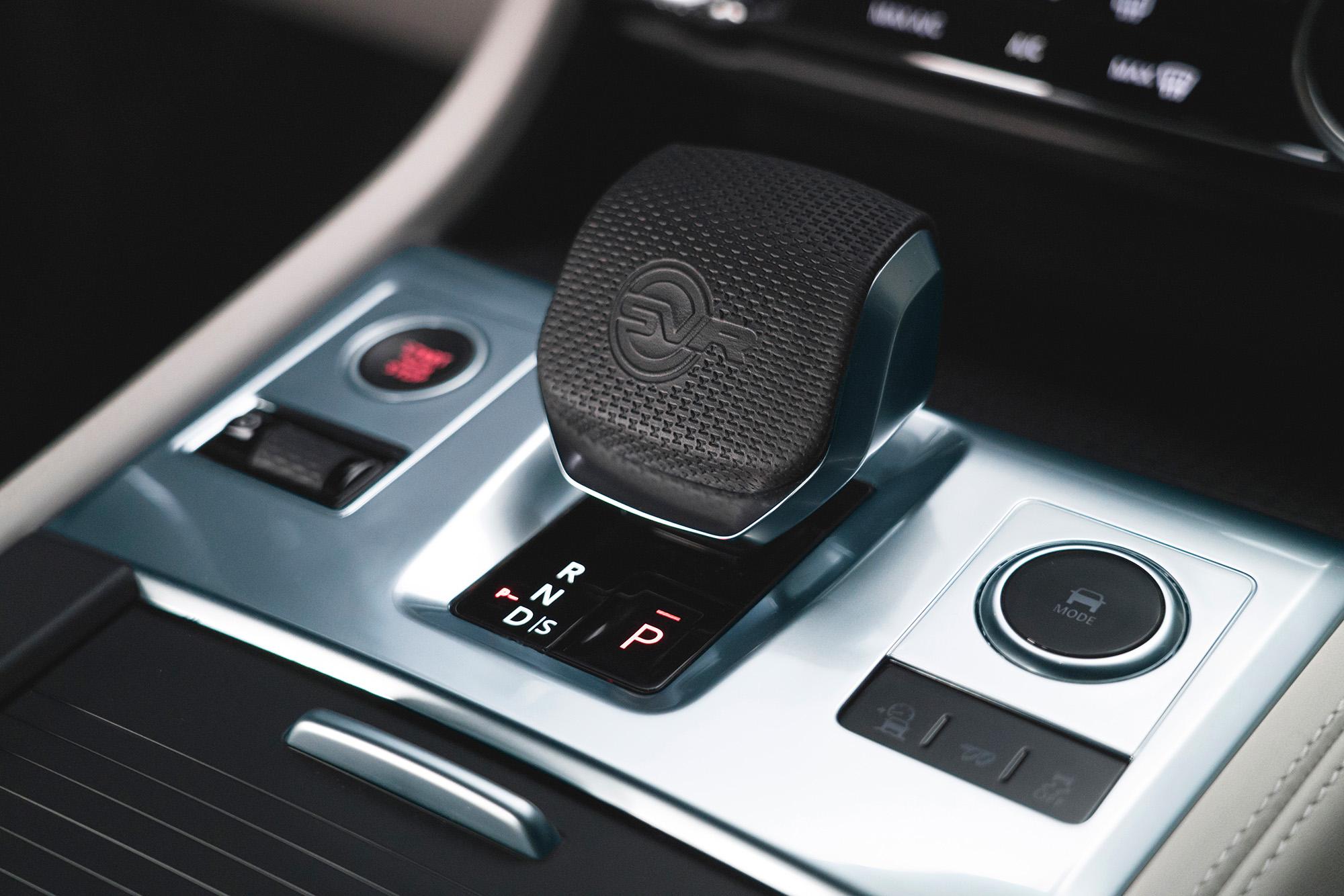 Interieur des Jaguar F-Pace SVR Dynamic – Bei der Jaguar Land Rover SVO Tour vom 28.9. bis 9.10.2021 bei Auto Stahl Wien 22 erleben!