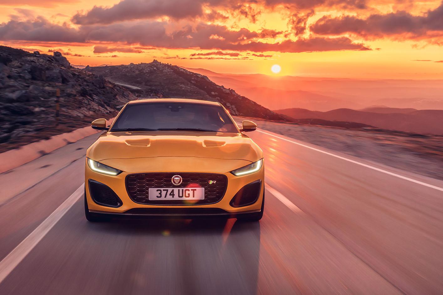 Jaguar F-Type R Coupé – Bei der Jaguar Land Rover SVO Tour vom 28.9. bis 9.10.2021 bei Auto Stahl Wien 22 erleben!